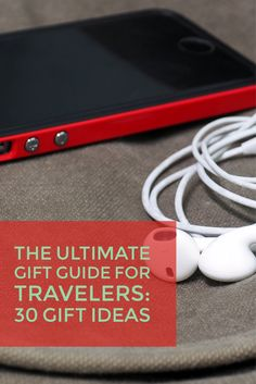 Check out the Ultimate Gift Guide for Travelers -- 30 Gift Ideas! #travel #traveler #travelgifts #giftideas #giftguide #xmasgifts #holidays #shipping