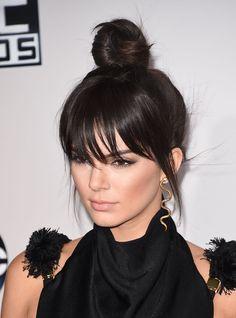 El falso flequillo de Kendall Jenner