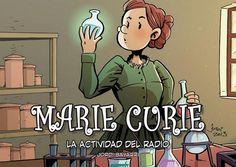 Marie curie. La actividad del radio. A partir de 10 años.