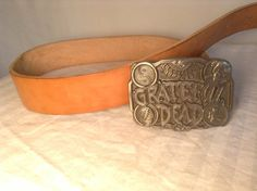 Officially licensed 1992 Grateful Dead belt by crazygoodbananas, $75.00