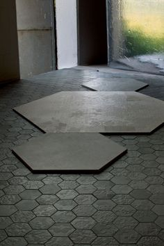 Buy online Dechirer decor nero By mutina, indoor porcelain stoneware wall/floor tiles design Patricia Urquiola, dechirer Collection Patricia Urquiola, Wall And Floor Tiles, Wall Tiles, Floor Design, Tile Design, Deco Design, Hexagon Tiles, Hex Tile, Tile Patterns