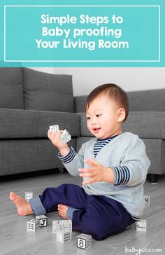 Ultimate guide to baby proofing your living room