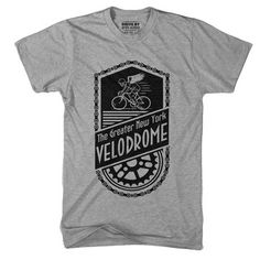 NYC Velodrome Tee by Drive by Press