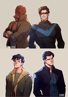 Jason and Dick. Red Hood and Nightwing Batman Robin, Robin Dc, Im Batman, Funny Batman, Jason Batman, Robin Logo, Baby Batman, Red Hood, Dc Comics