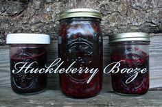 Huckleberry Cordial, Shrub, and Drunken Berry Recipes by Salt+Fat+Whiskey.