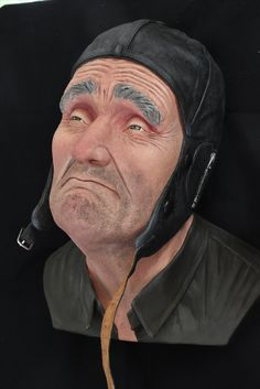 Hand Painted Ceramics, Ceramic Painting, Figurative, Sculptures, Clay, Fictional Characters, Art, Hyperrealism, Hand Painted Pottery