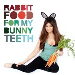 loveee her blog!  Rabbit Food For My Bunny Teeth