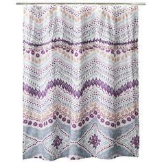 "Girls? - Boho Boutique™ Bombay Fleur Shower Curtain  - 72x72"""