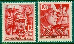 Third Reich - Commemorative Issues 1945