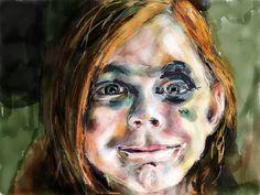 Portret schilderen op je iPad met de app, PaperbyFiftyThree