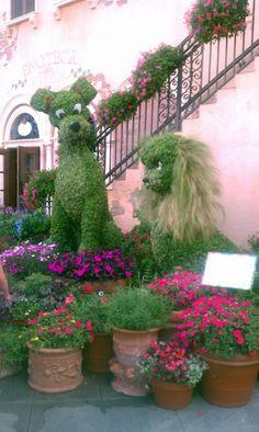 Epcot's Flower & Garden Show 2012 at Walt Disney World Resort Italy
