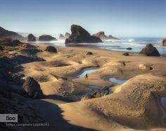 Morning Vibes by leiferik  beach coast oregon pacific northwest sea stack southern oregon sunrise Morning Vibes leiferik