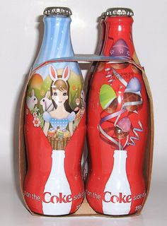 Coca Cola's Easter campaign, limited edition bottles, Australia 2007