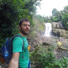 That was a crazy #travel year! Super #happytraveller episodes coming up in 2017!! #bali #waterfall #indonesia #traveller #explore #instatravel #instatrip