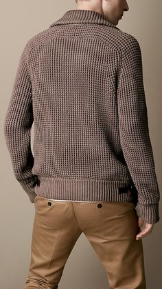 Chunky Knit Warmer Cardigan | Burberry
