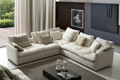 European designed with maximum comfort in mind, finished in your preferred fabric finish. See the full collection today: http://www.dslfurniture.com/lamberi-sofas.html