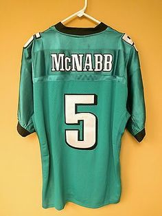 904b9f6ade6 Details about Reebok Philadelphia Eagles Football Jersey Sz 54 Stitch  Donovan Mcnabb