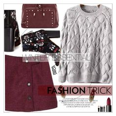 """""""WINTER ESSENTIAL"""" by yoinscollection ❤ liked on Polyvore featuring Isabel Marant and NARS Cosmetics"""