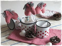 ♥+kleines+Steckenpferd+so+süß,ROTweiß+♥+von+Lavendelherz´l+auf+DaWanda.com