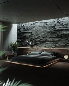Luxury Bedroom Design, Home Room Design, Dream Home Design, Modern House Design, Home Interior Design, Black Bedroom Design, Dream House Interior, Luxury Homes Dream Houses, Natural Bedroom