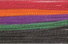 200 melírovaných drátků v pěti barvách. Decor, Decoration, Decorating, Deco