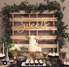 Wedding cakes, simply visit this truly fantastic pin idea number 9070166256 right here. Wedding Desert Table, Fall Wedding, Our Wedding, Dream Wedding, Sweet Table Wedding, Dessert Bar Wedding, Wedding Candy Table, Wedding Snacks, Wedding Quotes