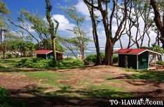 Camping in Hawaii - Malaekahana Beach Campground