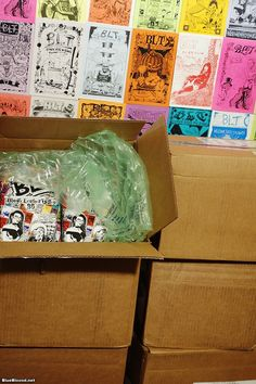 BLT Punk Humor Zine Books Are Hot Off the Press! (Link: http://www.blueblood.net/2016/02/blt-punk-humor-zine-books-are-hot-off-the-press/) Guess whose living room is filled with cartons of books! I have a whole lot of copies of BLT 25: Black Leather Times Punk Humor and Social Critique from the Zine Revolution in my living room right now. All the backers of the BLT Kickstarter have BLT in their living rooms (or more debauched... - Blue Blood Magazine Gothic Punk Photos