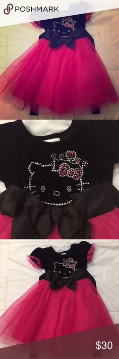 Adorable Hello Kitty Dress Only used once! Perfect condition! Hello Kitty Dresses