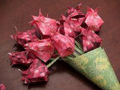 Paper Roses via Brenda DLR