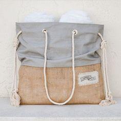 Cute beach bag!