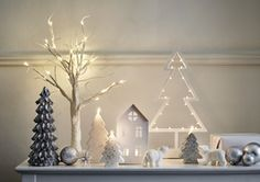 Press Loft :: download free high res press images :: Tesco Christmas 2015 :: Tesco Midnight Tree £4 > 1.5ft White Pre-Lit Twig Tree £15 > White House Tealight Holder £ 3.50 > Silver Glitter Christmas Tree Candles from £2.50 > images