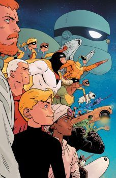 Future Quest is the mish-mash-em-up comic series from DC's revived Hanna-Barbera line, and the one that doesn't try for a modern reinvention, rather going Comics Und Cartoons, Old School Cartoons, Cool Cartoons, 1980 Cartoons, Dc Comics, Comic Book Covers, Comic Book Heroes, Comic Books Art, Comic Art