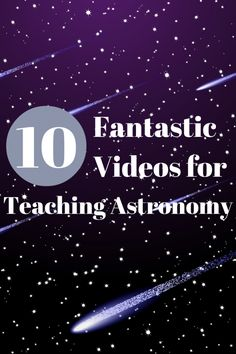 These astronomy videos made great visual aid for my 3rd/4th-graders. It is amazing how visual footage and artistry can make astronomy come to life.