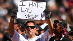 The Oakland Raiders filed for relocation and it's probably not going to go well
