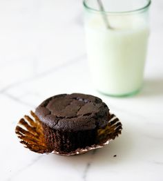 Best Ever Quinoa Chocolate Cupcakes.  no flour - the cooked quinoa is blended up with the rest of the ingredients.  interesting.