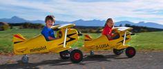 Kids, pedal car, Airplane, MiniComet, by Mini Pilot