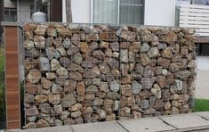 Bali Garden, Gabion Wall, Wire Fence, Signage Design, Home Repair, Plant Decor, Indoor Plants, Firewood, Living Spaces