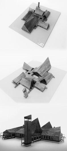 Hatlehol Church Full project: https://www.behance.net/gallery/22778265/Hatlehol-Church AALBORG UNIVERSITYMSC01 ARC 10, 2014Andreas Falk SheyeMateusz Szymon Płoszaj-MazurekNatalia OkolusPeter ChristensenPeter Nordestgaard Rønnest