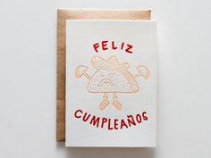 Feliz Cumpleaños Taco