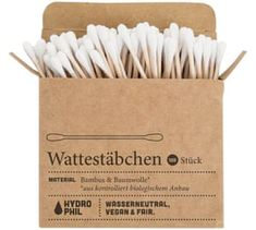 91 Tips & Tricks – Plastic-free Life without garbage Bathroom without plastic – plastic cotton swabs