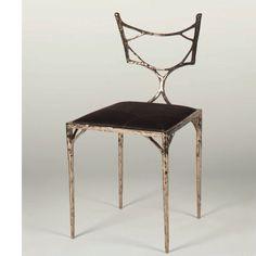 Gorgeous bronze chair kennethwalter.com