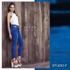 #LookStudioF Si quieres destacar tu figura,nada mejor que unos Jeans skinny y una blusa completamente ajustados. #StudioFGuatemala