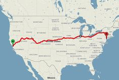 He spent $429 on a train ticket that took him from coast to coast in 15 days. | This Guy Saw The U.S. For Under $500 And You'll Want To Copy His Trip