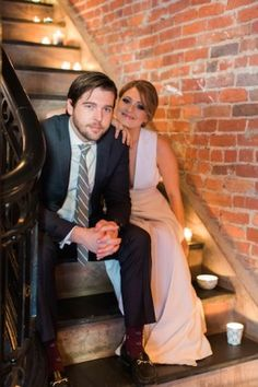 Sophisticated and modern elopement ideas