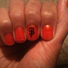 My SF Giants nails