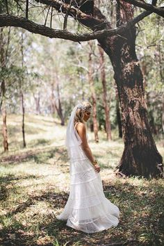 Wedding Dress, Bohemian Vintage Style Wedding Dress With Fitted: bohemian style wedding dresses