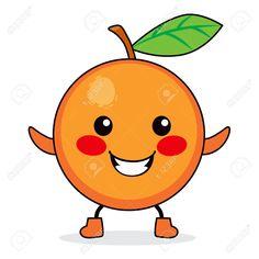 Frutas felices esbozadas Vector Gratis  Carnaval escolar
