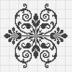 Other 08 | Free chart for cross-stitch, filet crochet | gancedo.eu                                                                                                                                                     Mehr