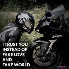 Biker Thoughts Bike Quotes, I Trusted You, Fake Love, Trust Yourself, Biker, Thoughts, Wrong Love, Bicycle Quotes, Tanks